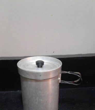 Pot à café aluminium XXème