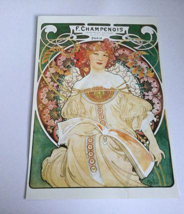 Affiche F. Champenois d'Alphonse MUCHA