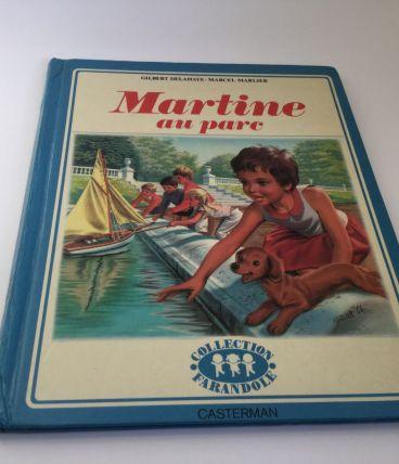Martine au parc 1967 livre enfant vintage