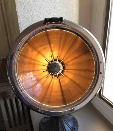 Lampe ancien radiateur Calor années 40