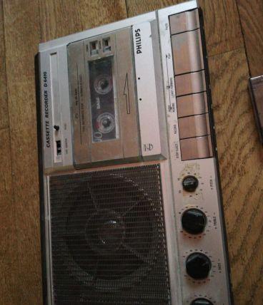 Lecteur cassette phillips