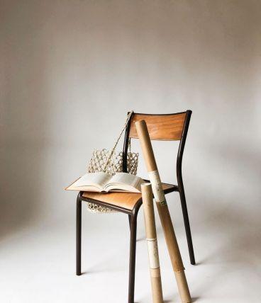 Chaise écolier vintage (8 disponibles)