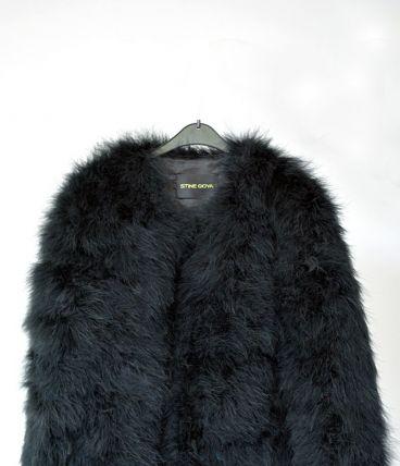 Stine Goya Veste Noir Élégante