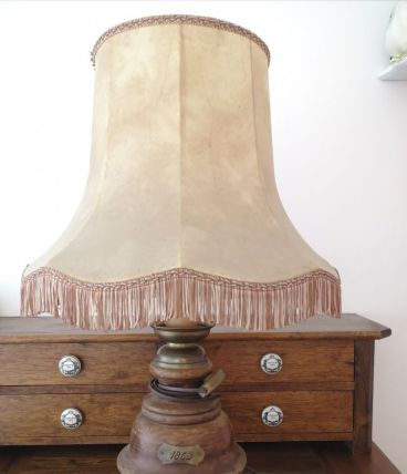 "Authentique lampe ancienne ""1853"""