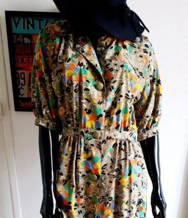 Robe vintage colorful