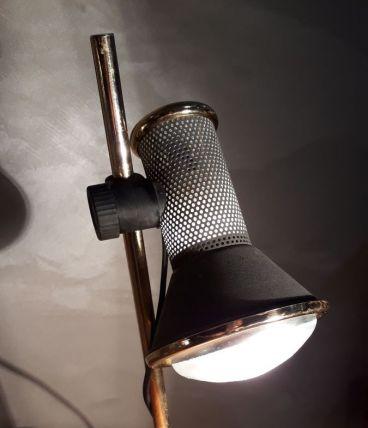 lampe spot gris granite de bureau  1970