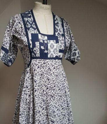 robe vintage  en coton