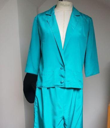ensemble vintage polyester