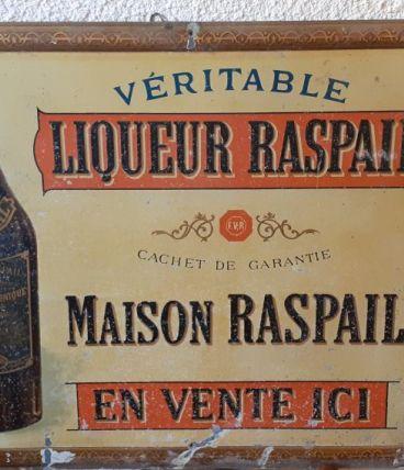 plaque publicitaire