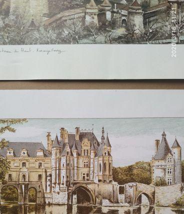 Lithographie de Daniel Dervaux