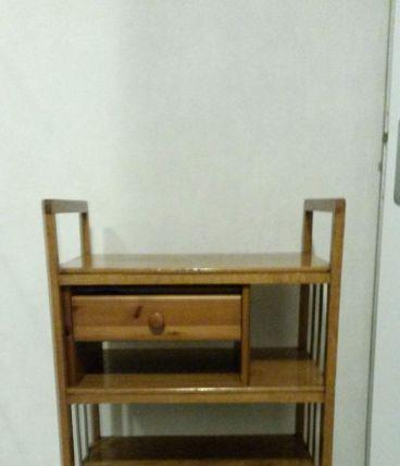 petite etagère ancienne. caisson tiroir amovible
