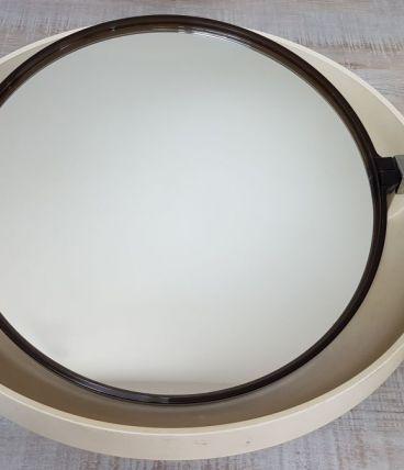 Miroir rétro-éclairé Allibert années 1970