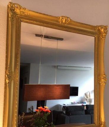 Miroir ancien doré 60cm x 52cm style Napoléon3