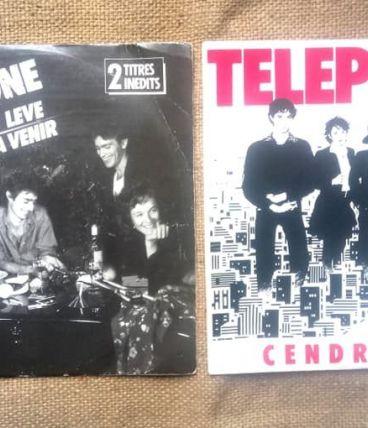 45 tours de Téléphone - Cendrillon/Le jour s'est levé