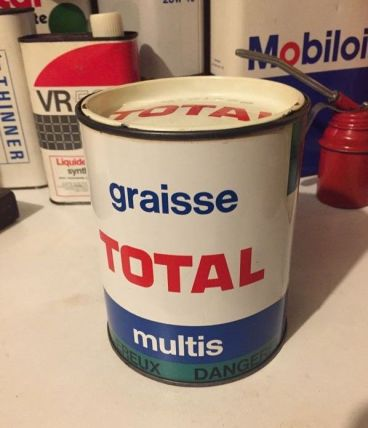 Pot de Graisse TOTAL