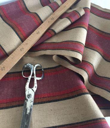 Pièce de tissu ancien, toile de jute
