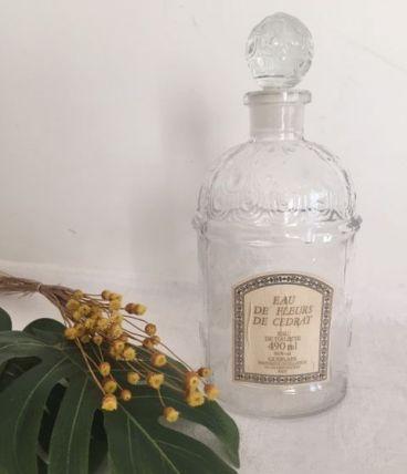 Flacon aux abeilles GUERLAIN - Eau de fleurs de Cédrat