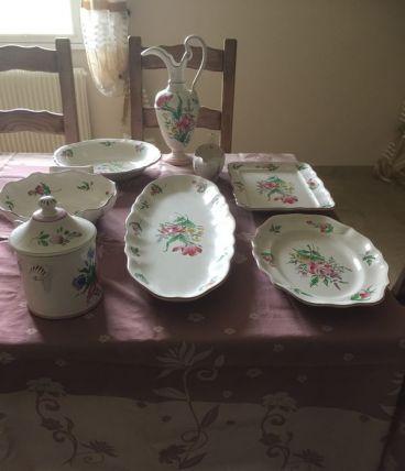 Service vaisselle Lunéville