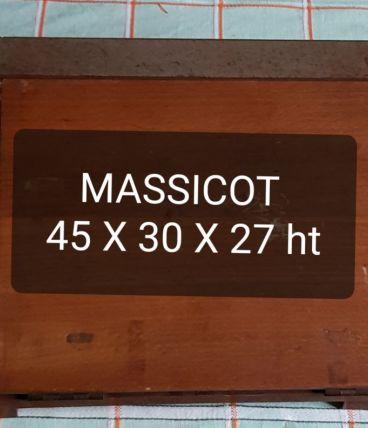 Massicot en bois des années 50