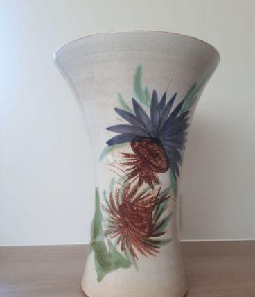 Vase en grès années 60