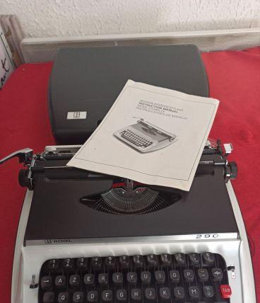 Machine à Ecrire ROYAL 290 avec Notice Fonctionne