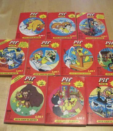 livre de poche  PIF lot de 10 livres