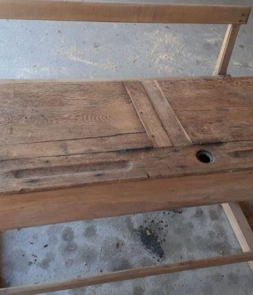 bureau ecolier bois