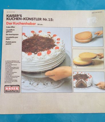 Pelle à Gâteau Vintage / Kaiser Kuchenheber