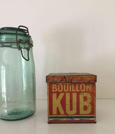 Boîte bouillon Kub