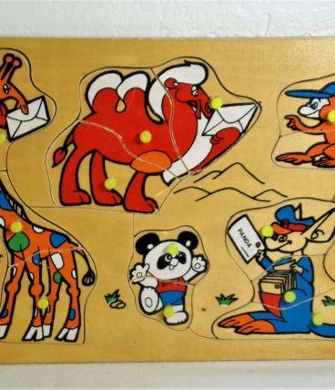 Mon premier puzzle Animaux sauvage