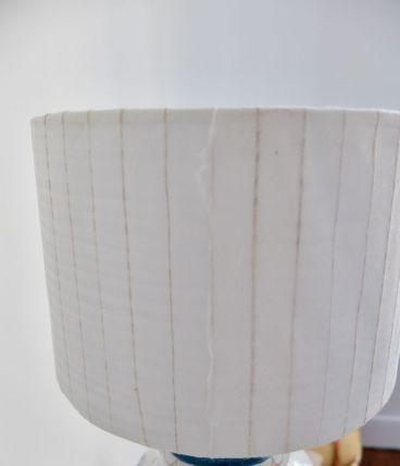 Abat-jour papier fibres naturelles