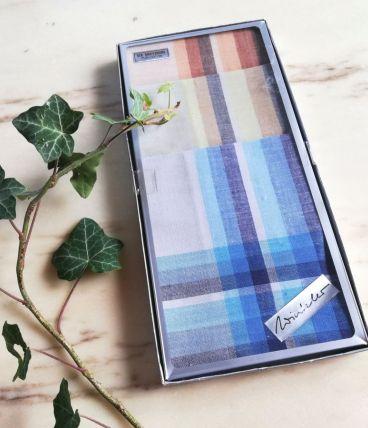 6 mouchoirs lavables en coton neufs vintage 39 cm