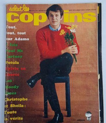 Magazine Salut les copains n° 45 de avril 1966