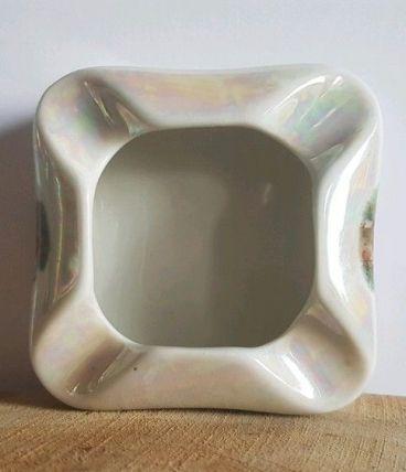 Cendrier vintage porcelaine Victoria czechoslovakia