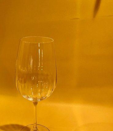 Lot de 6 verres à vin cristals