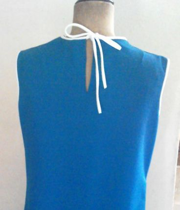 Robe bleue DIOLEN LOFT  70's