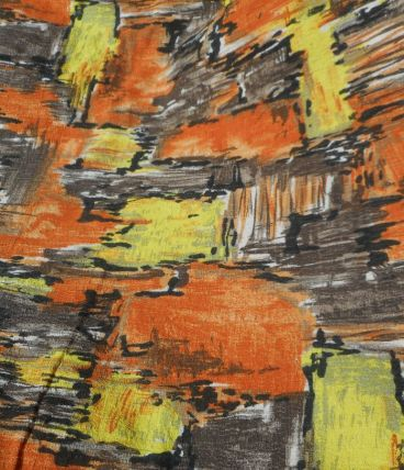 paire de rideaux /  2 pieces de tissu