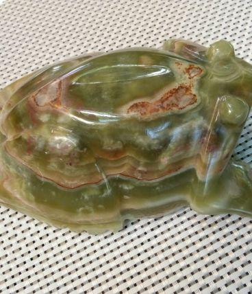 Grenouille vintage en Jade de collection