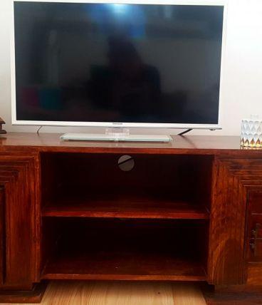 Meuble télé en bois massif
