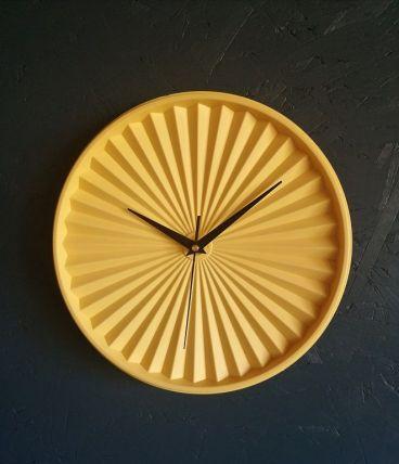 """Horloge vintage, pendule vintage """"Tupp Jaune"""""""