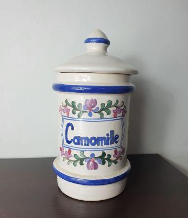Pot à pharmacie Camomille