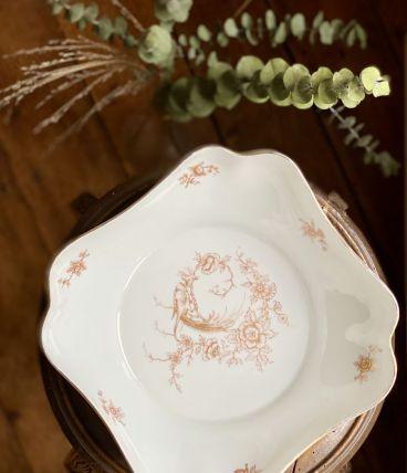 Le saladier en porcelaine de Limoges