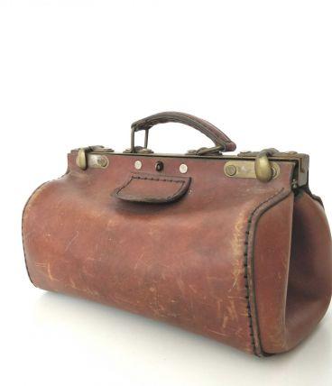 Sacoche valise de medecin début XXeme