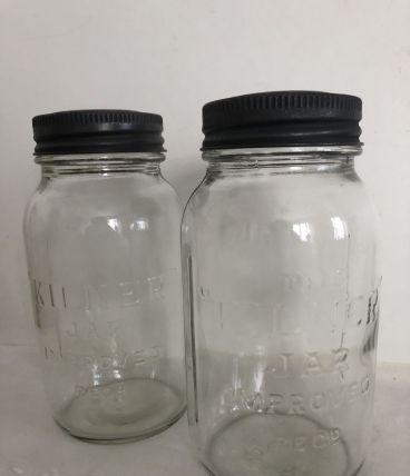 Paire de bocaux Kilner - 3/4 de litre