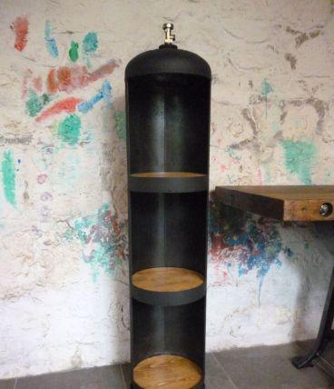 Meuble colonne - Industriel - Bonbonne de gaz