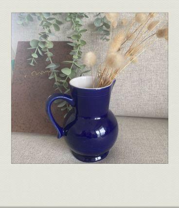 Pichet Émile Henry, bleu azur brillant