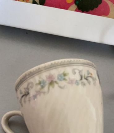 Tasses porcelaines