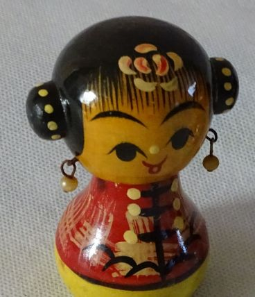 Figurines chinoises par 2 pcs