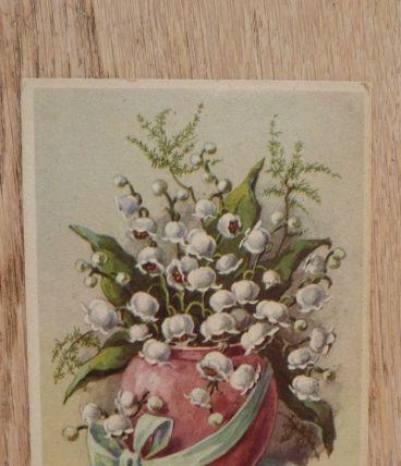 Lot de 2 cartes postales vintage