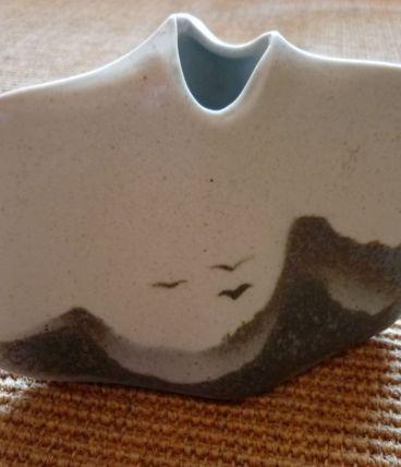 petit vase  porcelaine virebent made in France vintage